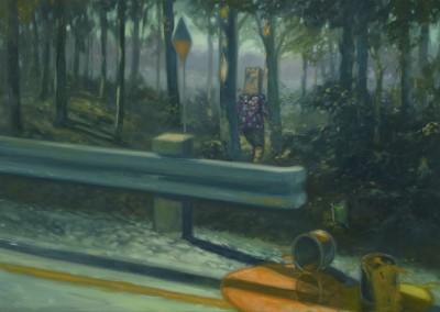 Abdication- Bûcher une trail dans le nowhere, 35,5 x 53,8 cm, 2012, VENDU