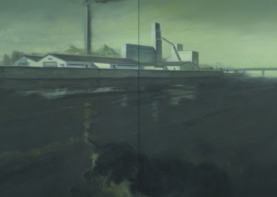 Rivière, 183 x 274,3 cm, 2012