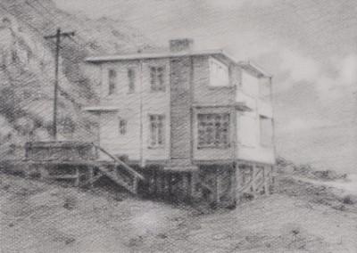 Vanishing House IV, 7,6 x 11,4 cm, 2012