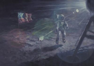 Apollo XI- Baliser les limites du nulle part, 91,5 x 137 cm, 2013, VENDU
