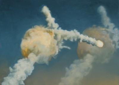 Challenger I, 36 x 50 cm, 2014, VENDU