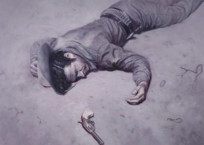 Dead Man, 137 x 183 cm, 2014