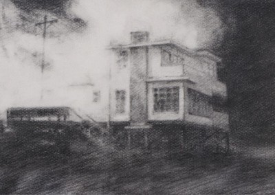 Vanishing House V, 7,6 x 11,4 cm, 2012