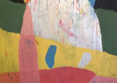Salut bonhomme, salut bonhomme, 152 x 102 cm, 2013