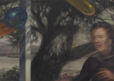 Femme courant, 43 x 76,5 cm, 2011