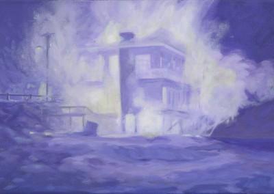 House, 25,4 x 38,1 cm, 2012, VENDU