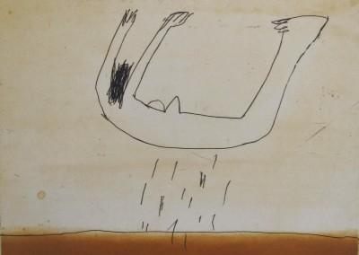 L'aube, 38,5 x 43 cm, 2001