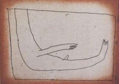 La baignoire, 64 cm x 50,5 cm, 2001