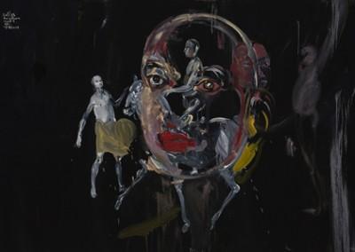 Sans titre (fig. 3), 122 x 183 cm, 2007, VENDU