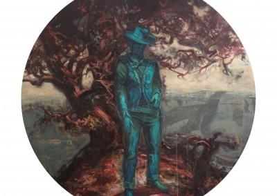 Cowboy, 167,5 cm (diamètre), 2010