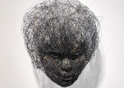 Femme en fil, 38 x 40.6 x 30.5 cm, 2016