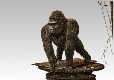 Gorille, 37 x 32 x 30,5 cm, 2014