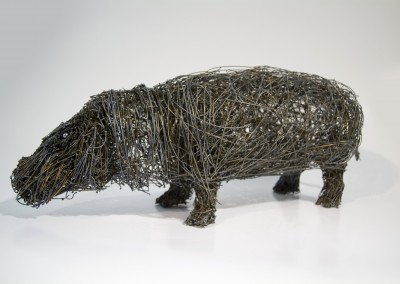 Hippopotame, 17 x 42 x 15 cm, 2009