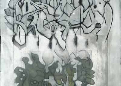 Horizons incertains VIII, 82 x 47 cm, 2011, VENDU