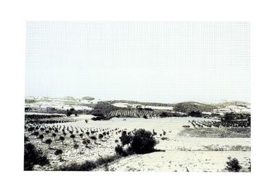 Incursions... En train (scène 5), 56 x 77 cm, 2013, VENDU