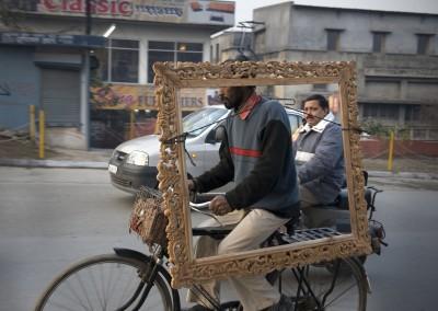 Sans titre (miroir), 76,2 x 101,6 cm, 2008