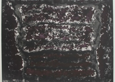Jardin de pierres vaste, 81.5 x 99 cm, 1993