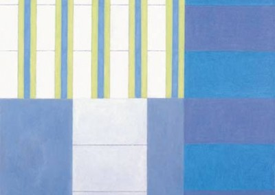 Out of the blue, 76.2 x 76.2 cm, 2003