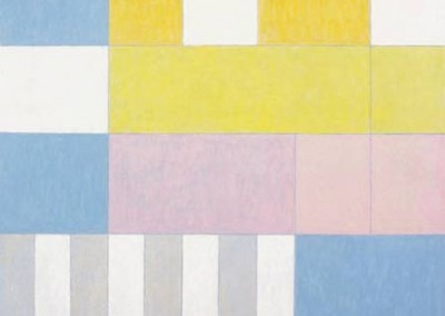 To break the squares, 91.4 x 91.4 cm, 2003