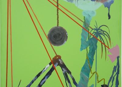 Moon Tree II, 122 x 91 cm, 2017