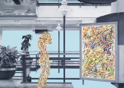 Espace public no. 35, 76 x 76 cm, 2010