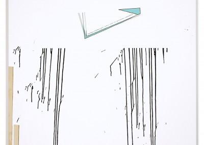 Sans titre 9, 182 x 137 cm, 2011, VENDU