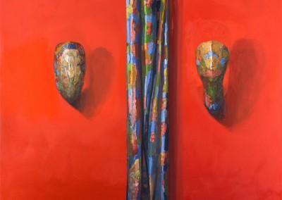 S'embraser, 132 x 152 cm, 2013, VENDU