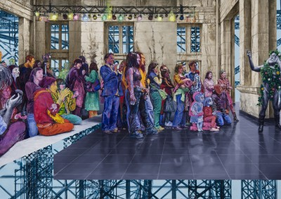 We Are Come to This Great Stage of Fools, 173 x 282 cm, 2011