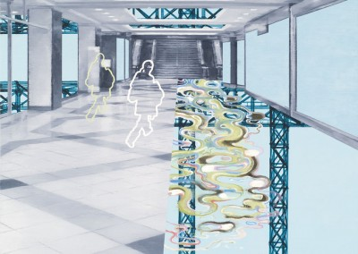Espace public no. 40, 46 x 46 cm, 2010