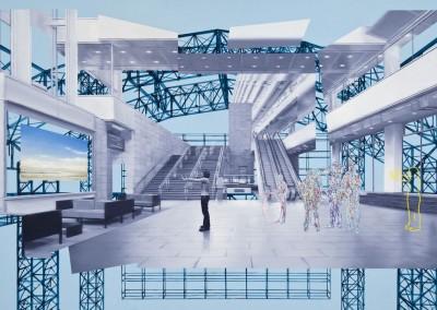 Espace public no.46, 135 x 213 cm, 2012