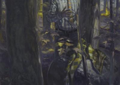 Grocery Bag- Communion avec la nature, 213,3 x 154,9 cm, 2012, VENDU