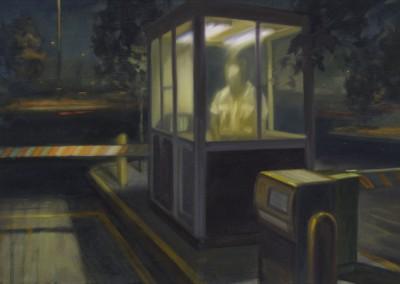 Guérite, 43 x 65 cm, 2011, VENDU