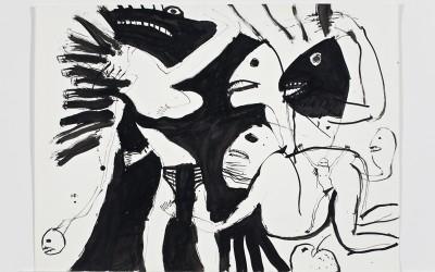Fighting Inner Selves, 56 x 76 cm, 1992
