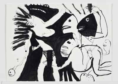 Fighting Inner Selves, 56 x 76 cm, 1992