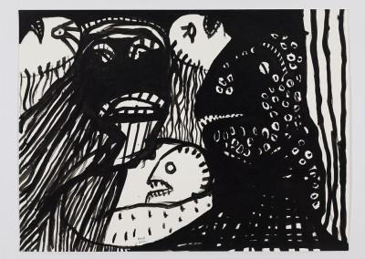 Dark Times, 56 x 76 cm, 2000