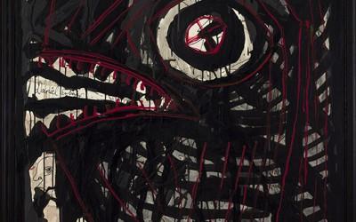 Black Eye, 152 x 102 cm, 2008