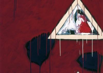 À projeter l'instant, 190 x 132 cm, 1982