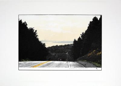 Empaysage; Site #1, 30 x 55 cm, 2016, SOLD