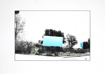 Empaysage; Site #5, 27 x 51 cm, 2016