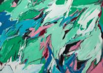 Peinture #28 - Paparmane, 91.5 x 122 cm, 1962