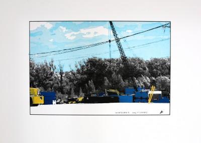 Empaysage; Site #8, 27 x 51 cm, 2016