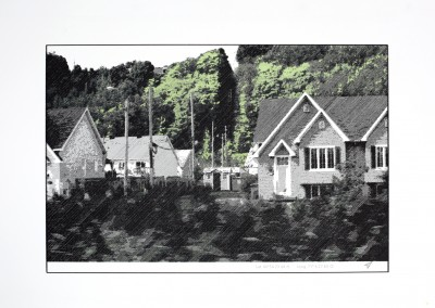 Empaysage; Site #9, 32 x 53 cm, 2016