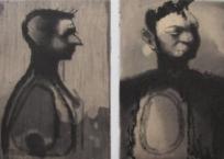 L'âme sale, 67 x 50 cm, 2001