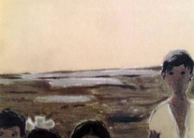 La famille de Luzina, 49.5 x 29.5 cm, n.d.