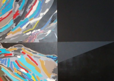 Tableau 58B, 183 x 183 cm, 2014