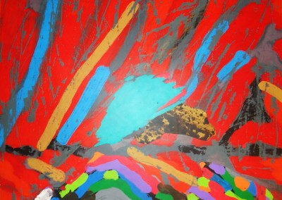 Otium, 58.4 x 58.4 cm, 2015