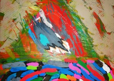 Palapa, 58.4 x 58.4 cm, 2015