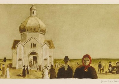 L'Église Orthodoxe, 29.5 x 49.5 cm, n.d.