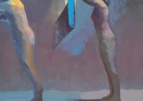 L'entrée des pas réussis, 153.5 x 122 cm, 2005