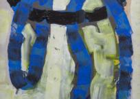 F. Hot (Ficelle Hotchkiss), 86 x 45 cm, 1971